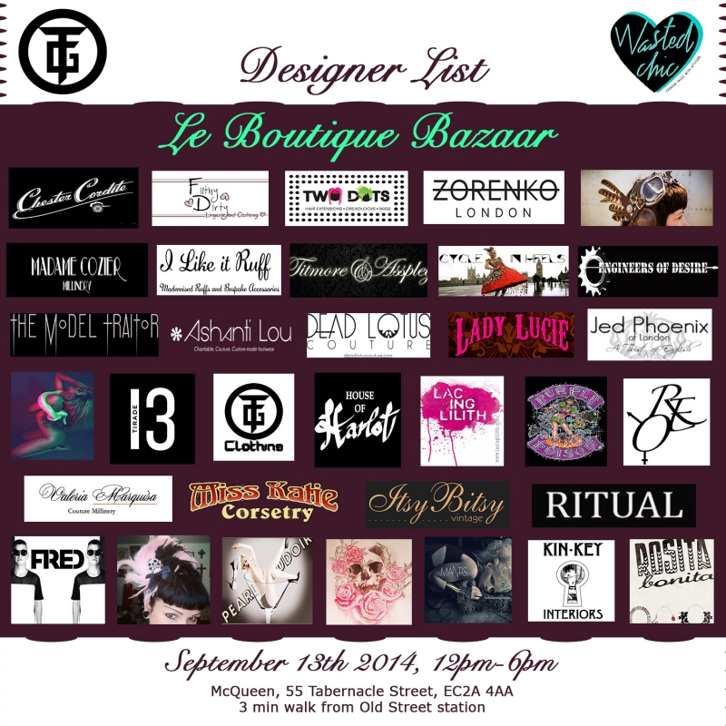 Designer List Le Boutique Bazaar