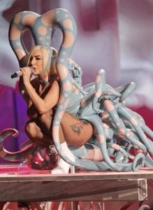 Lady Gaga wearing Dayne Henderson